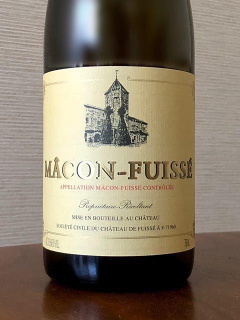 Ch. Fuissé Mâcon Fuissé(シャトー・フュイッセ マコン・フュイッセ)