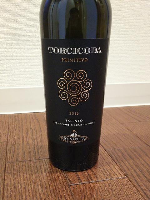 Tormaresca Torcicoda Primitivo(トルマレスカ トルチコーダ プリミティーヴォ)
