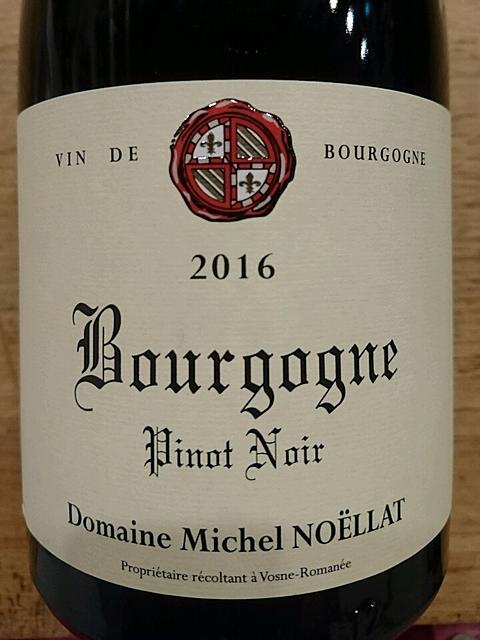Dom. Michel Noëllat Bourgogne Pinot Noir(ドメーヌ・ミシェル・ノエラ ブルゴーニュ ピノ・ノワール)