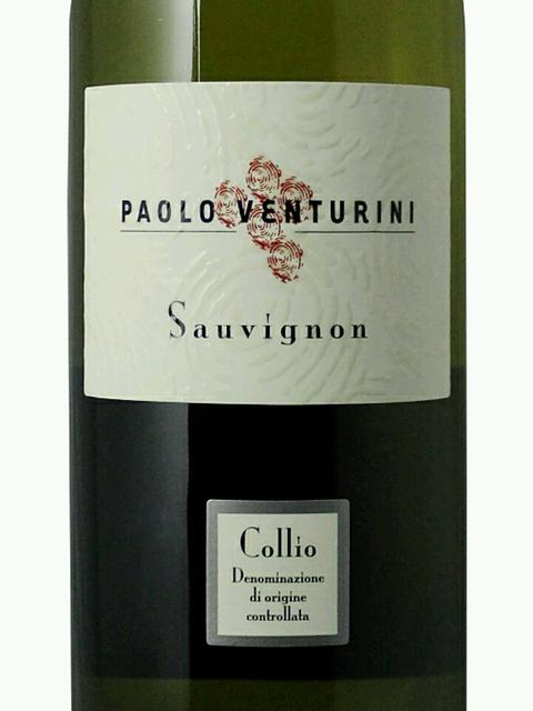 Paolo Venturini Sauvignon Collio(パオロ・ヴェンチュリーニ ソーヴィニヨン コッリオ)