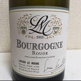 Lucien Le Moine Bourgogne Rouge