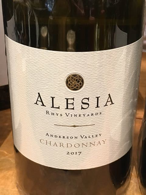 Rhys Vineyards Alesia Anderson Valley Chardonnay