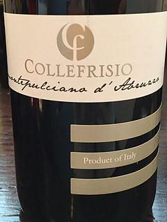 Collefrisio Montepulciano d'Abruzzo(コッレフリージオ モンテプルチャーノ・ダブルッツォ)