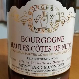 Mongeard Mugneret Bourgogne Hautes Côtes de Nuits Rouge La Croix