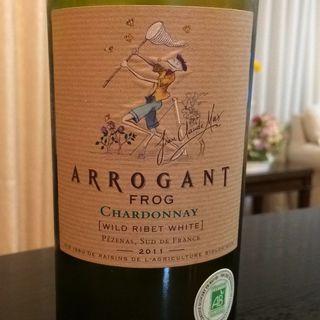 Arrogant Frog Wild Ribet White Chardonnay(アロガント・フロッグ ワイルド・リベット・ホワイト シャルドネ)