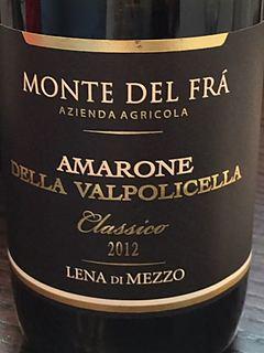 Monte del Fra Amarone della Valpolicella Classico Tenuta Lena di Mezzo