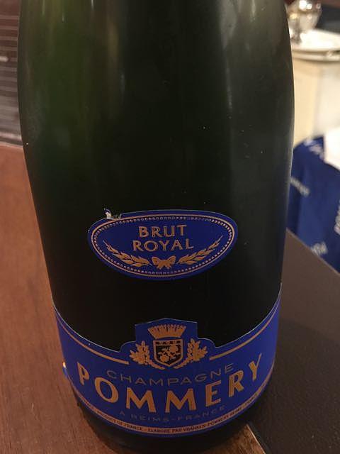 Pommery Brut Royal(ポメリー ブリュット ロワイヤル)