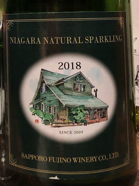 Sapporo Fujino Winery Niagara Natural Sparkling