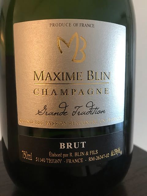 Maxime Blin Grande Tradition Brut(マキシム・ブラン グランド・トラディション ブリュット)