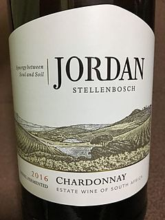 Jordan Stellenbosch Chardonnay