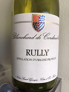 Blanchard de Cordambles Rully Rouge