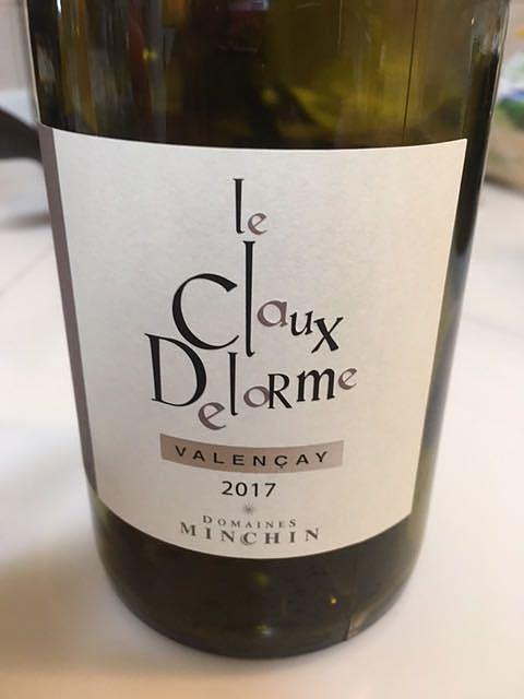 Dom. Minchin Le Claux Delorme(ドメーヌ・マンシャン ル・クロ・ドローム)