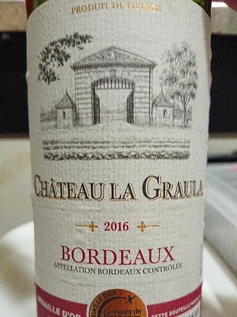 Ch. La Graula Bordeaux Rouge(シャトー・ラ・グローラ ボルドー ルージュ)