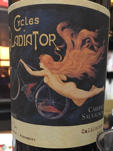 Cycles Gladiator California Cabernet Sauvignon(サイクルズ・グラディエーター カリフォルニア カベルネ・ソーヴィニョン)