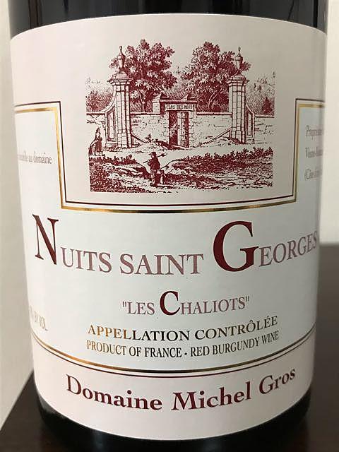 Dom. Michel Gros Nuits Saint Georges Les Chaliots