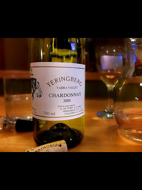 Yeringberg Chardonnay(イエリングバーグ シャルドネ)