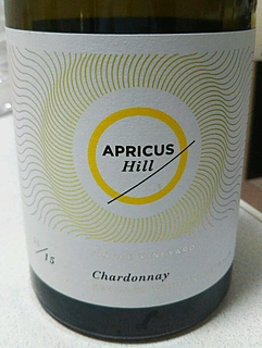 Apricus Hill Single Vineyard Chardonnay(アプリカス・ヒル シングル・ヴィンヤード シャルドネ)