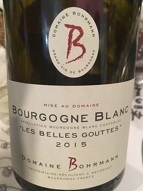 Dom. Bohrmann Bourgogne Blanc Les Belles Gouttes