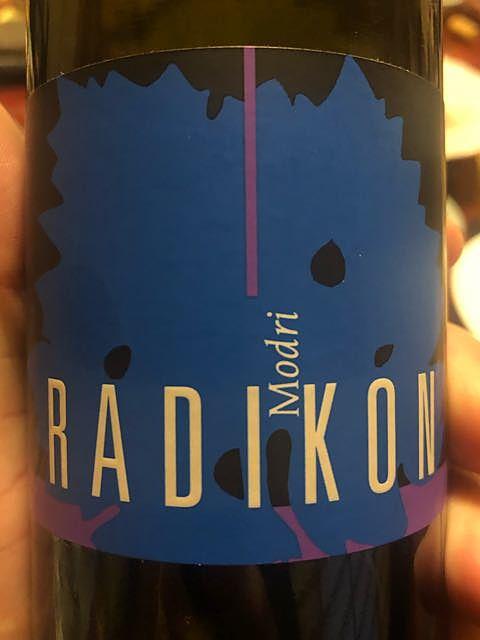 Radikon Modri(ラディコン モドーリ)