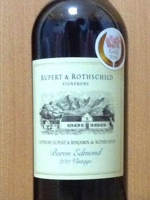 Rupert & Rothschild Baron Edmond 2011