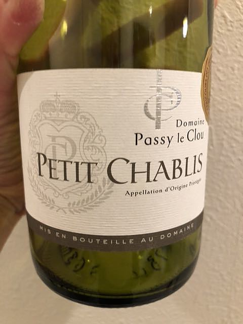 Dom. Passy le Clou Petit Chablis