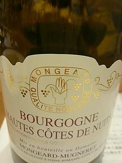 Mongeard Mugneret Bourgogne Hautes Côtes de Nuits Blanc