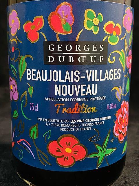Georges Duboeuf Beaujolais Villages Nouveau Tradition