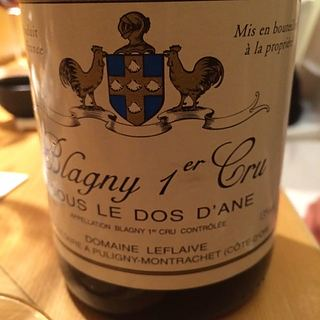 Dom. Leflaive Blagny 1er Cru Sous le dos d'Ane