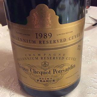 Veuve Clicquot Ponsardin Trilennium Réserve Cuvée Brut