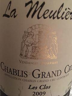 Dom. de la Meulière Chablis Grand Cru Les Clos(ドメーヌ・ド・ラ・ムリエール シャブリ グラン・クリュ レ・クロ)