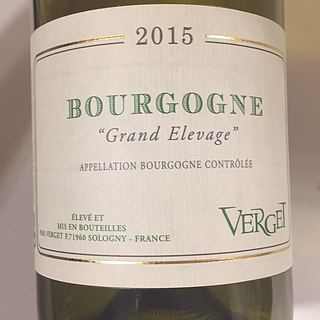 Verget Bourgogne Grand Elevage