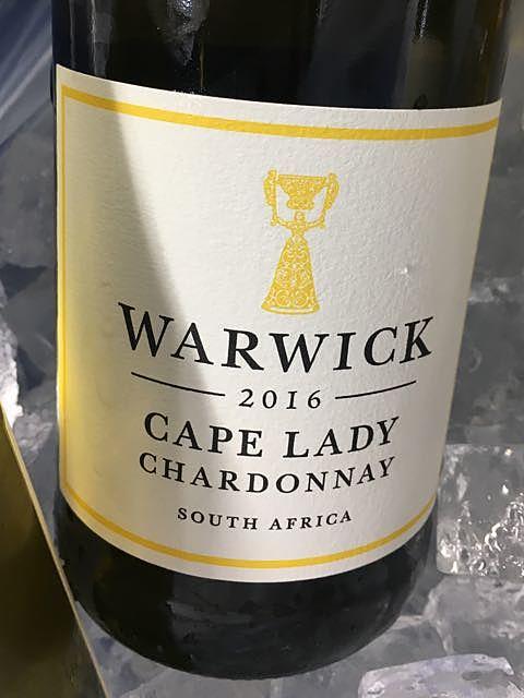 Warwick Cape Lady Chardonnay(ワーウィック ケープ・レディ シャルドネ)