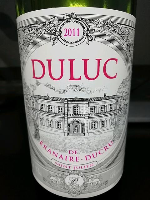 Duluc de Branaire Ducru(デュリュック・ド・ブラネール・デュクリュ)