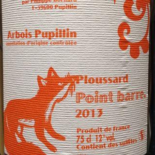 Philippe Bornard Arbois Pupillin Ploussard Point Barre