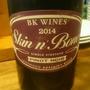 ビーケー・ワインズ スキン・アンド・ボーンズ ピノ・ノワール(2014)