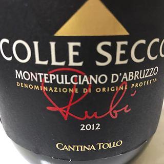 Cantina Tollo Colle Secco Rubi Montepulciano d'Abruzzo