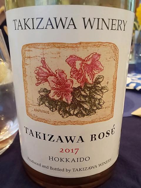 Takizawa Winery Takizawa Rosé 2017(タキザワ・ワイナリー タキザワ・ロゼ)