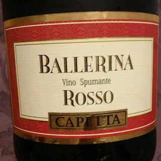 Capetta Ballerina Rosso Spumante