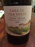 カサ・デ・ヴィラ・ヴェルデ ヴィーニョ・ヴェルデ(2019)