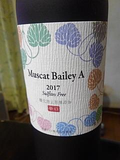 丹波ワイン Muscat Bailey A 酸化防止剤無添加 辛口