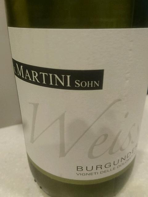 K. Martini & Sohn Weiss Burgunder (Pinot Bianco)