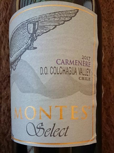 Montes Select Carmenère(モンテス セレクト カルムネール)