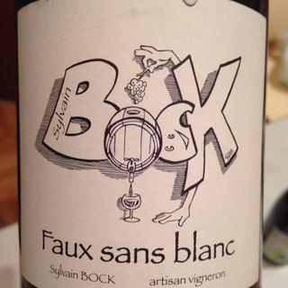 Sylvain Bock Faux Sans Blanc