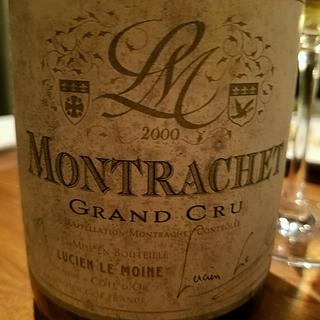 Lucien Le Moine Montrachet Grand Cru