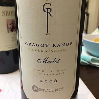 Craggy Range Gimblett Gravels Vineyard Merlot
