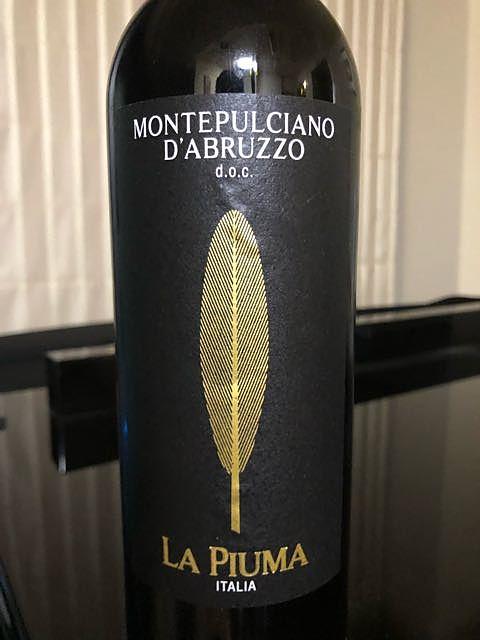La Piuma Montepulciano d'Abruzzo(ラ・ピューマ モンテプルチャーノ・ダブルッツォ)
