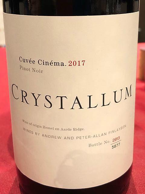 Crystallum Cuvée Cinéma Pinot Noir