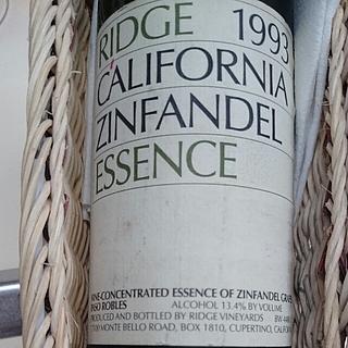 Ridge California Zinfandel Essence