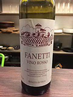 Fanetti Vino Rosso(ファネッティ ヴィノ・ロッソ)