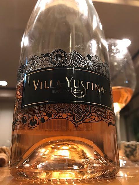 Villa Yustina Extra Dry Rosé(ヴィラ・ユティナ エクストラ・ドライ ロゼ)
